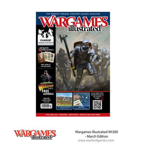 Wargames Illustrated WI389 March Edition