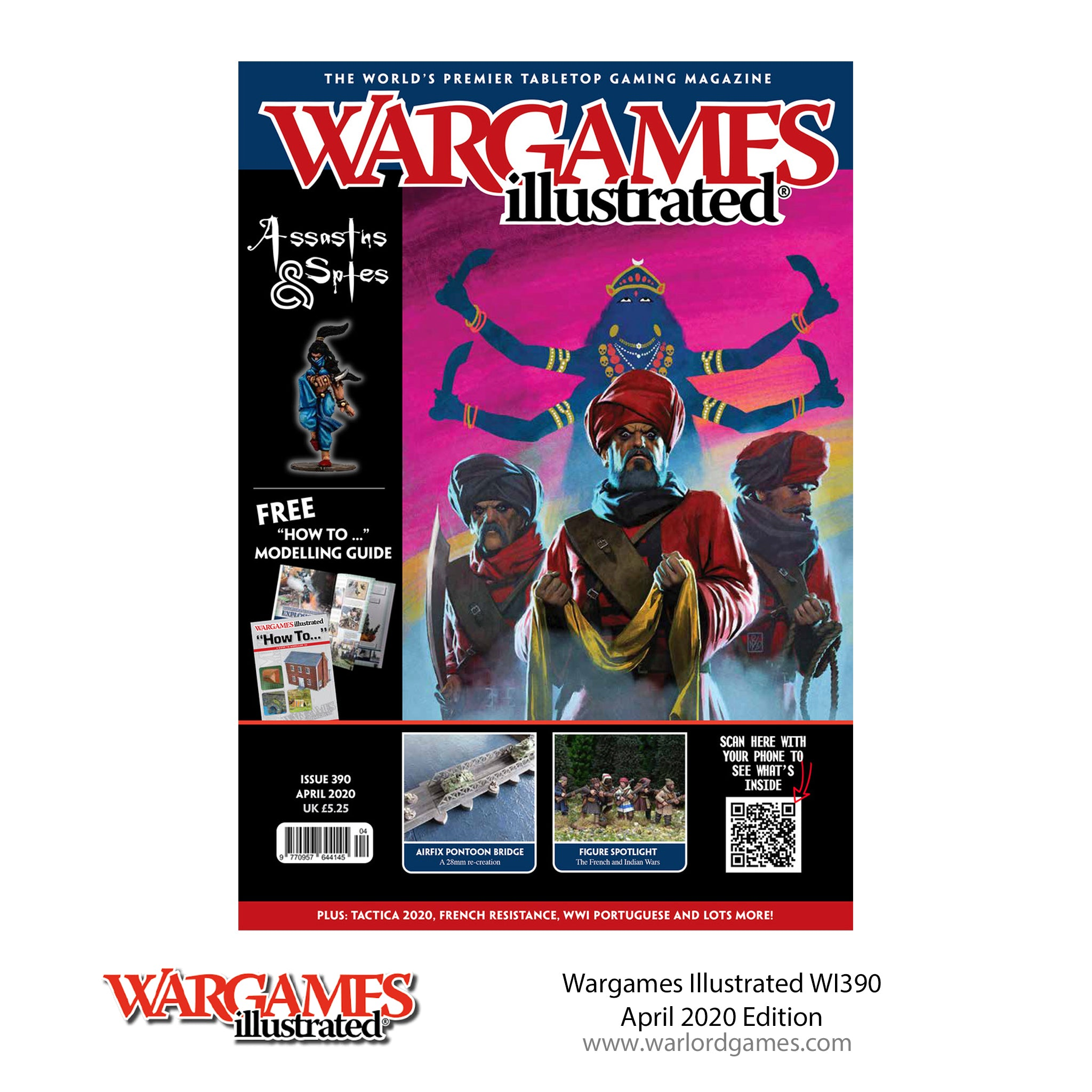 Wargames Illustrated WI390 April Edition