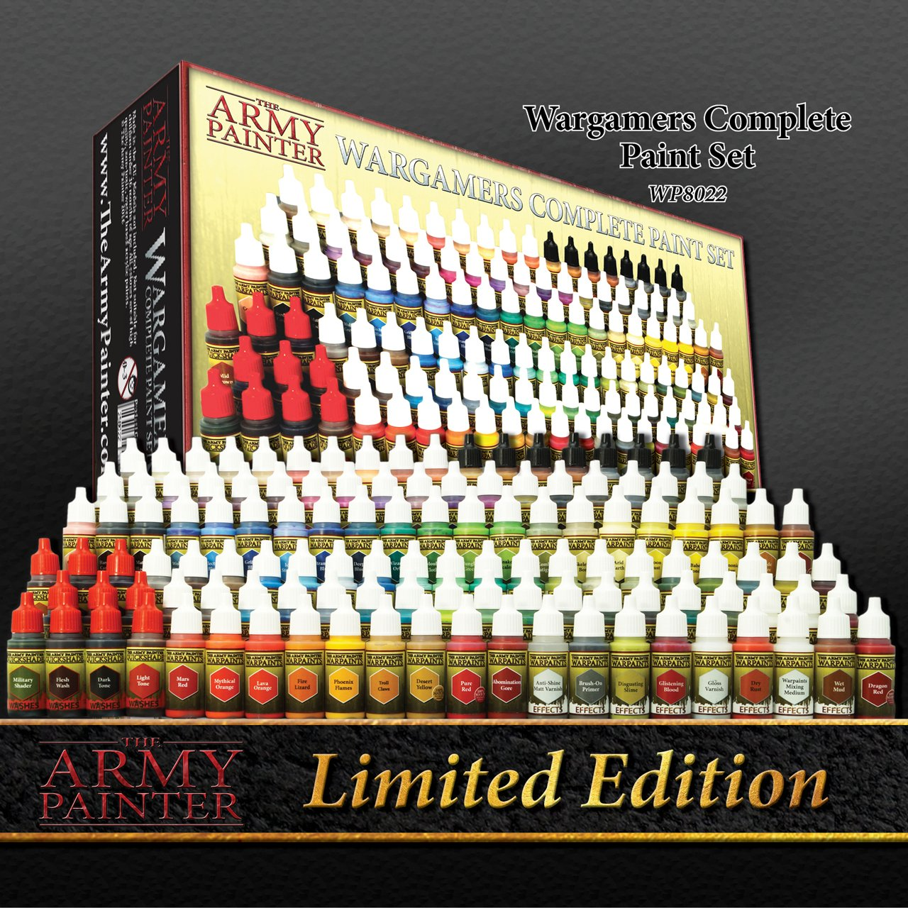 Warpaints Complete Wargamers Paint Set (Ltd Ed)