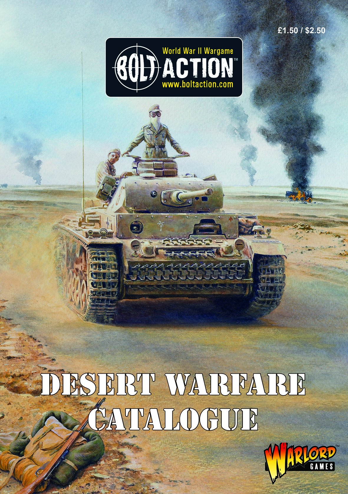 Bolt Action Desert Warfare Catalogue PDF