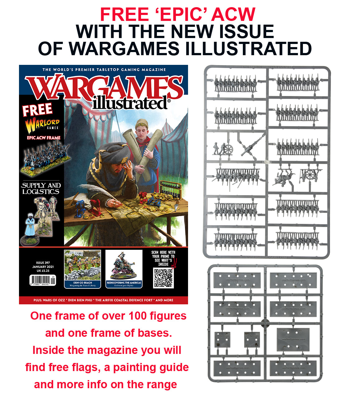 Wargames Illustrated WI397 January 2021 Edition