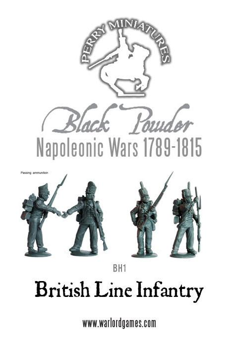 Napoleonic Wars: British Line Infantry 1808-1815