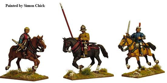 Wars of the Roses: Light Cavalry (1450-1500) plastic boxed set