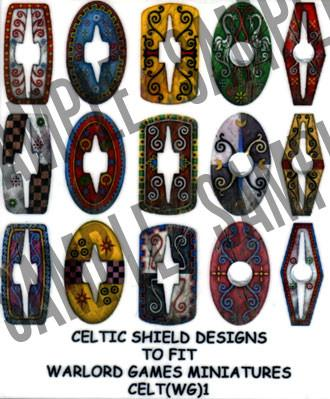 Celtic Warriors shield designs 1