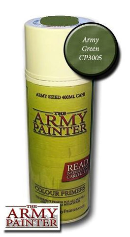 Army Green colour primer spray