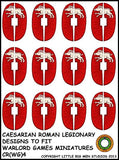 Caesarian Roman shield design 4