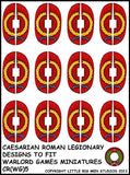 Caesarian Roman shield design 5