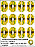 Caesarian Roman shield design 8
