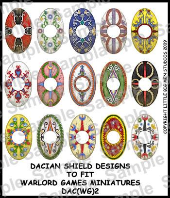Dacians shield designs 2