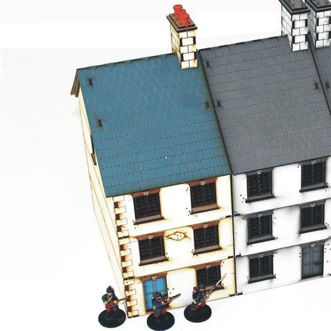 28mm Three Storey End Terrace