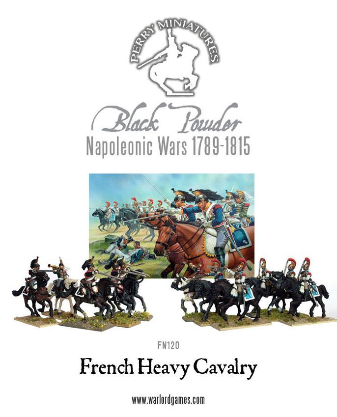 Napoleonic Wars: French Heavy Cavalry 1812-1815