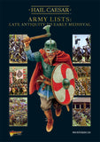 Digital Hail Caesar Army Lists - Late Antiquity to early Medieval PDF