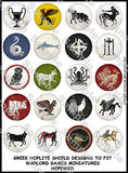 Greek Hoplite shield designs 1