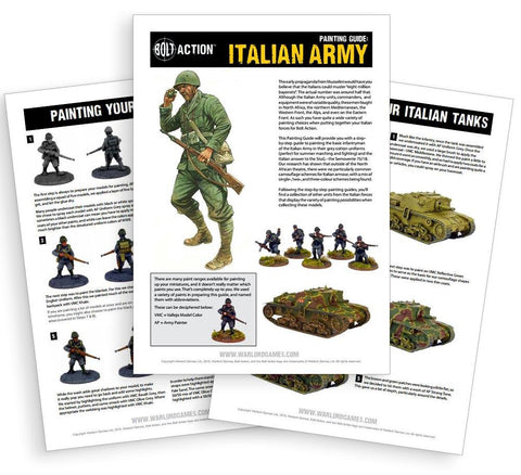 Italian painting guide - digital download