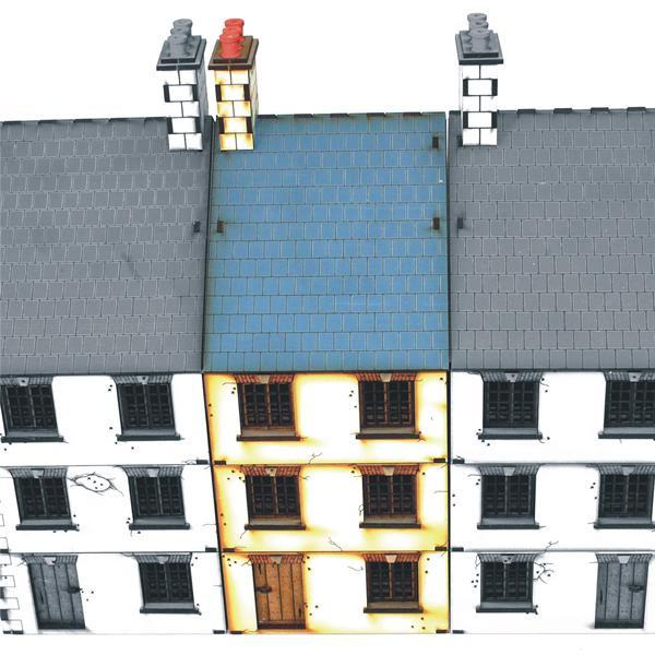 28mm Three Storey Mid Terrace