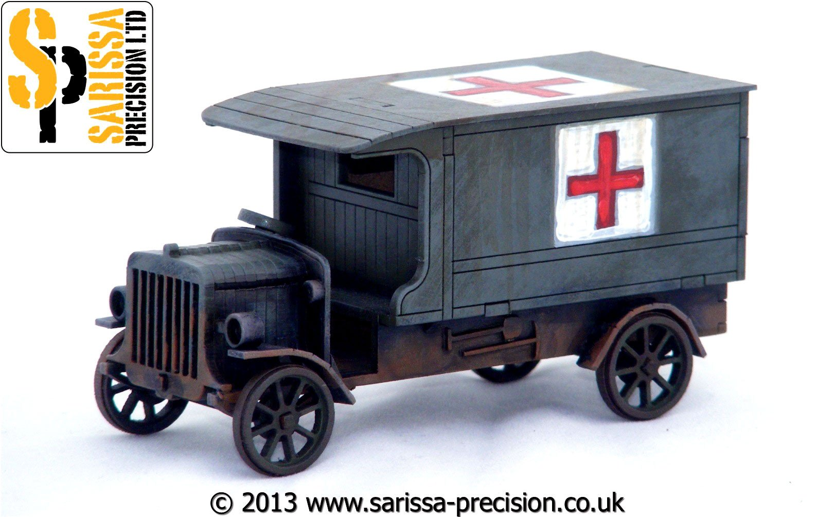 WW1 Delivery Lorry