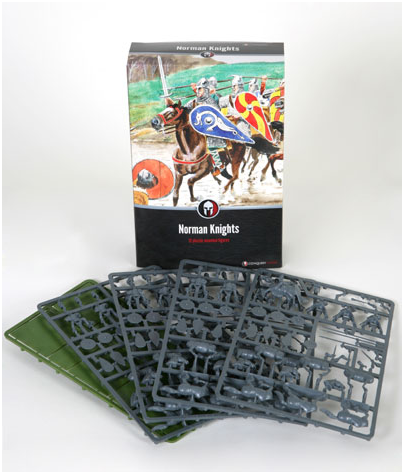 Dark Ages: Norman Knights plastic boxed set