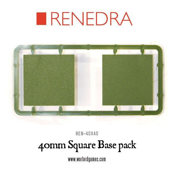 40mm Square Base pack