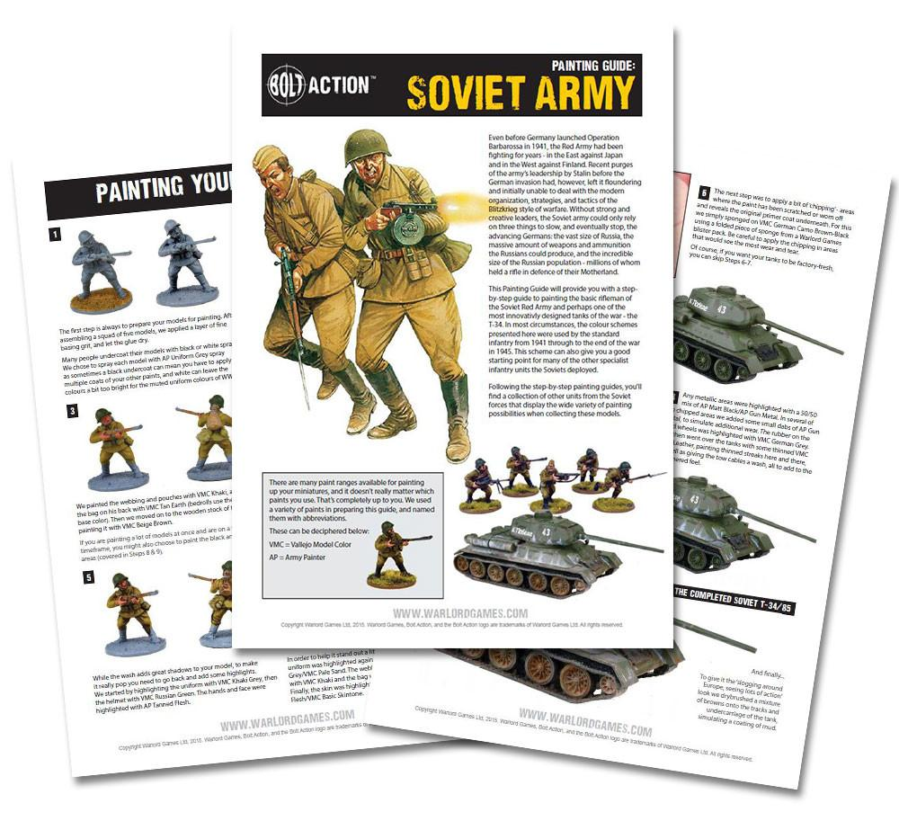 Soviet painting guide - digital download