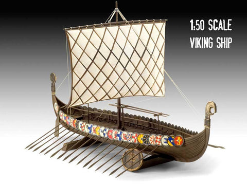 Plastic Viking Ship