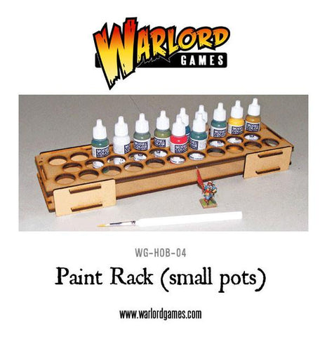 Paint Rack - Small Pots