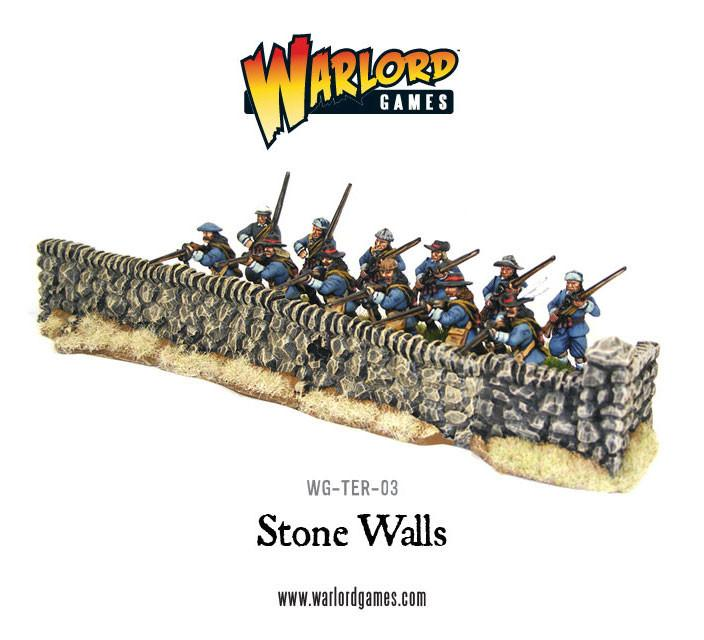 Rorke's Drift Undamaged Stone Walls