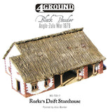Rorke's Drift laser-cut storehouse