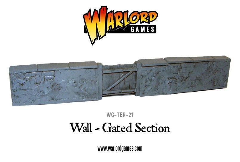 Wall gated section