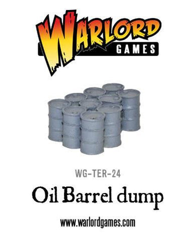Oil Barrel dump