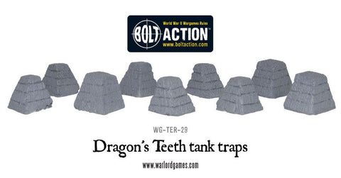 Dragon's Teeth tank traps