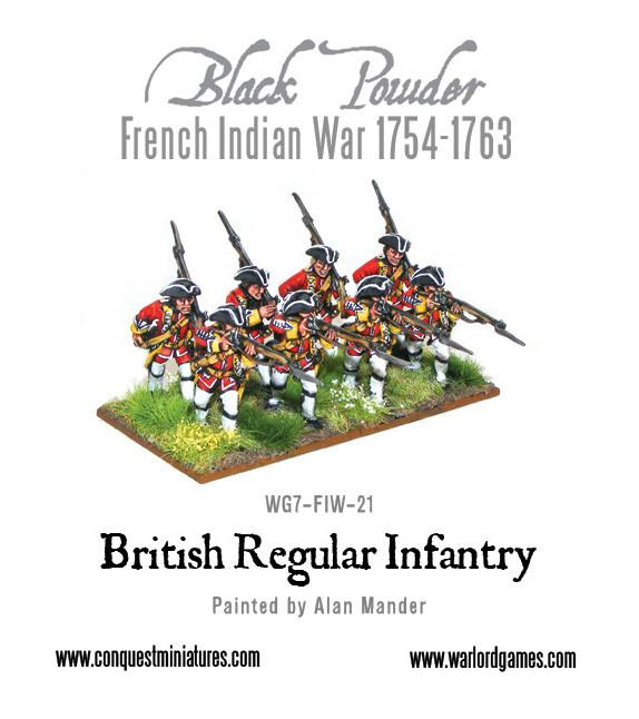 FIW British Regular Infantry