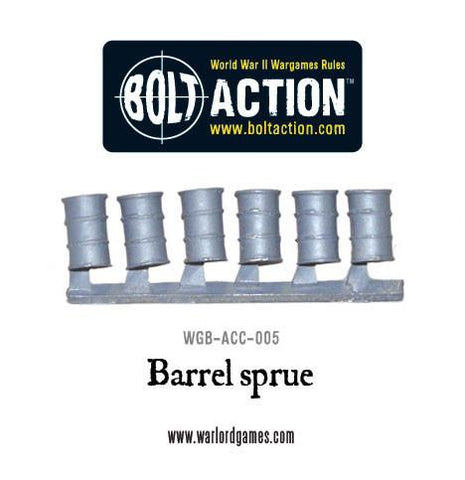 Oil Barrel sprue