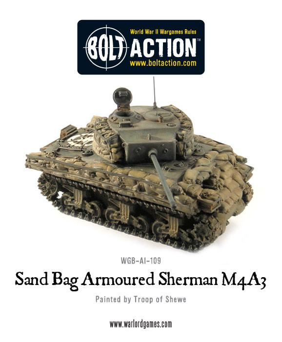 Sandbag Armoured Sherman M4A3