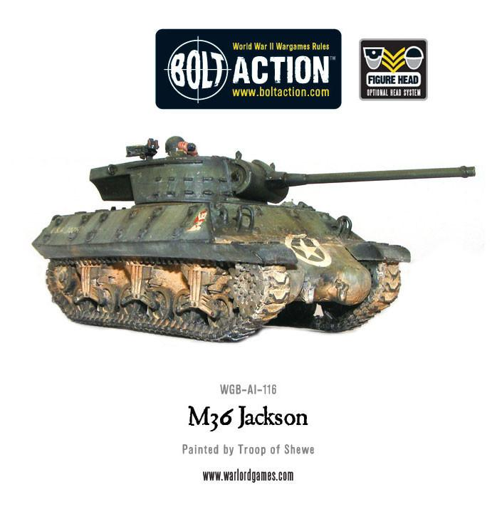 M36 Jackson tank destroyer