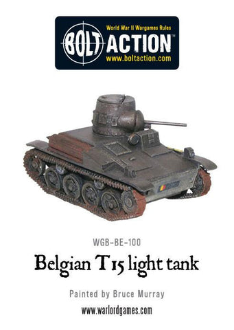 Belgian T15 Light Tank
