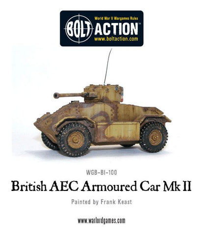 British AEC Armoured Car Mk II