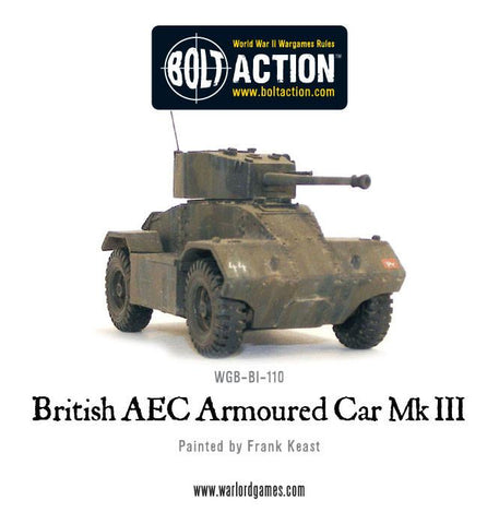 British AEC Armoured Car Mk III