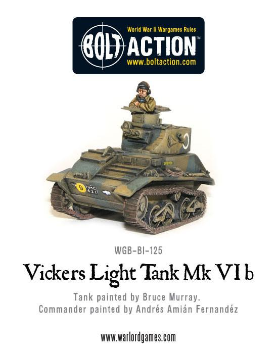 Vickers Light Tank Mk VIB