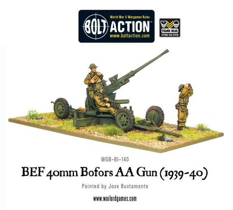 British Bofors QF 40mm Mk I