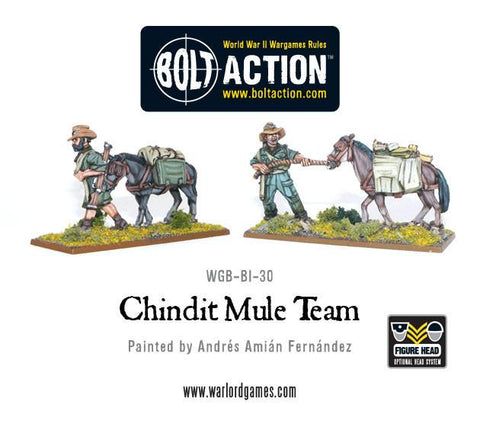 Chindit Mule Teams