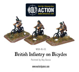British Infantry on bicycles