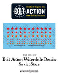 Bolt Action Soviet Stars decal sheet