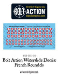 Bolt Action French Roundels decal sheet