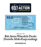 Bolt Action Deutsche Afrika Korps markings decals