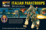 Italian Paratroops - WWII Italian Paratroops Boxed Set