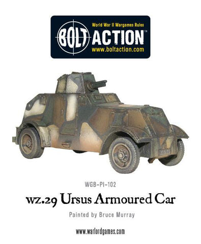 Polish wz.29 Ursus heavy armoured car