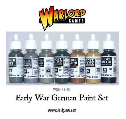 Early War German Paint Set