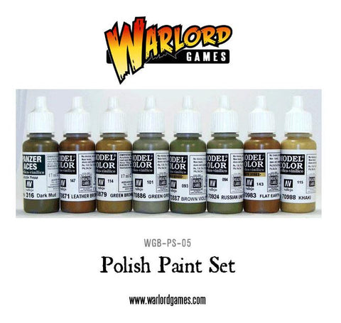 Polish Paint Set