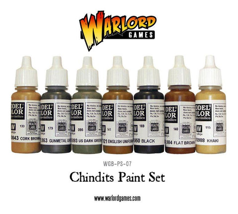 Chindits Paint Set