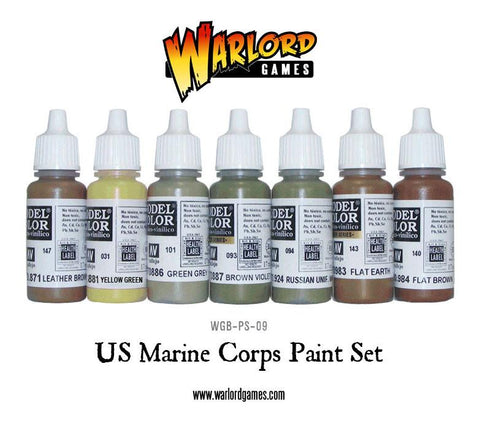 US Marine Corps Paint Set